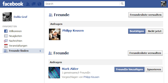 Freunde 1 und 2 am 15. Mrz 2012